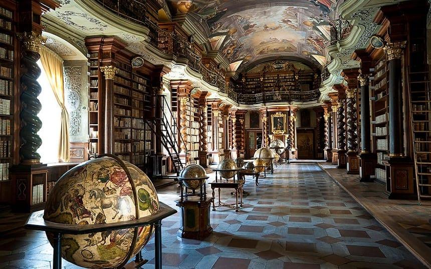 bibliotheek van Klementinum