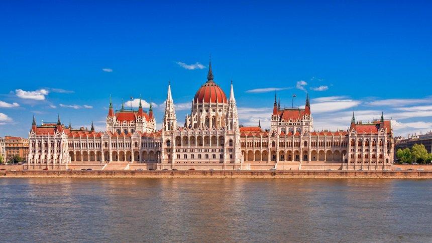 Boedapest parlementsgebouw.