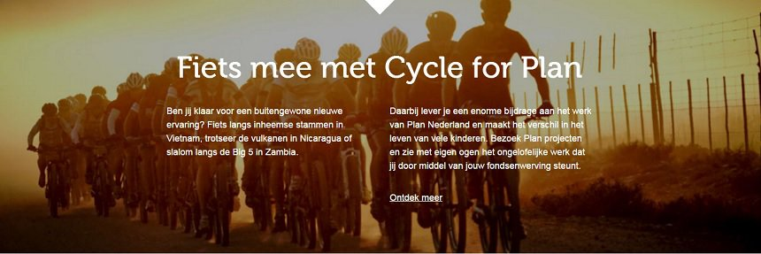 Fiets mee met Cycle for Plan in Zambia