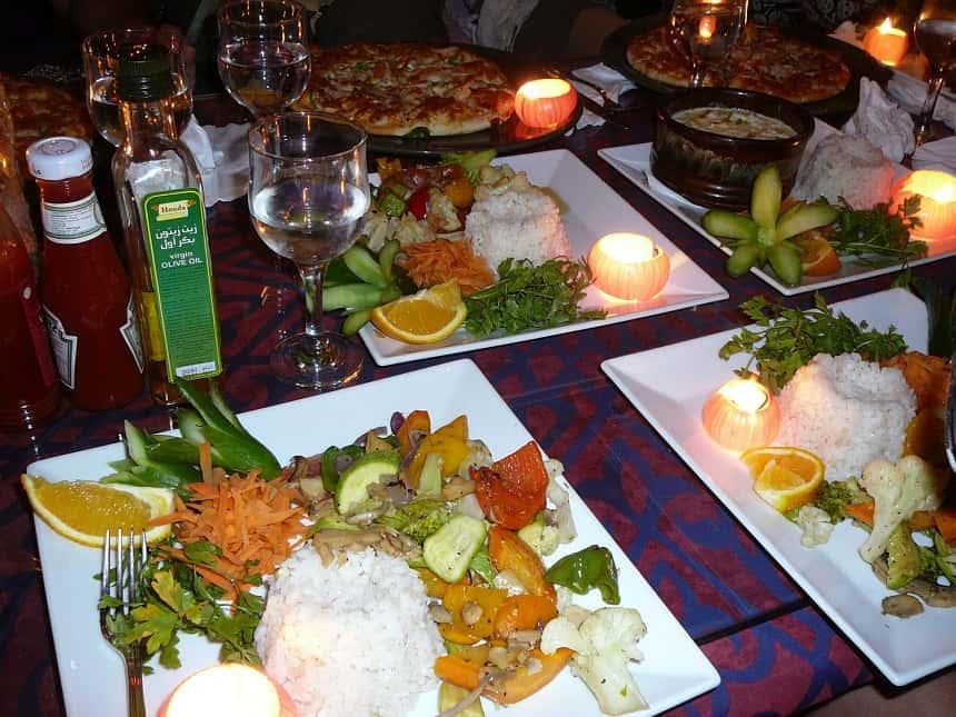 Lekker uit eten in Dahab