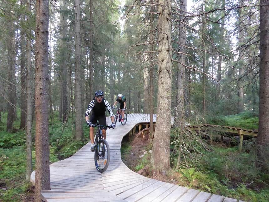 Gullia biedt uren aan mountainbikeplezier voor jong en oud!