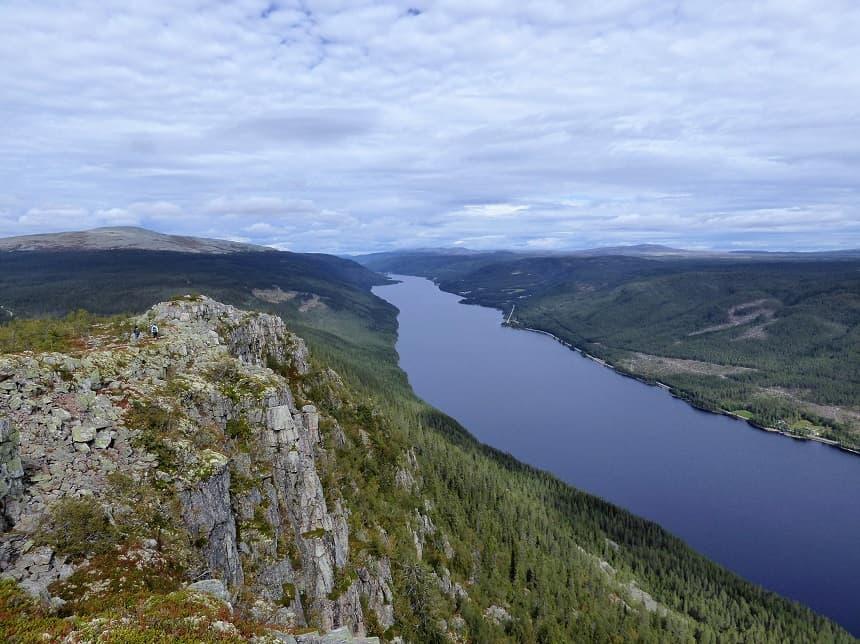 Skagsvola is het equivalent van de beroemde fjorden in Trysil