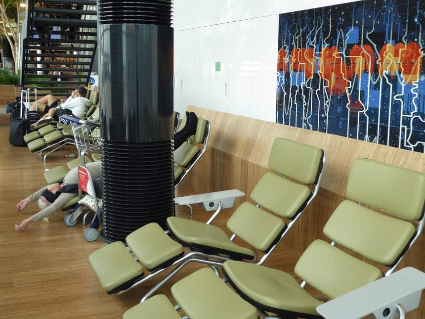 Lounge 2 biedt voldoende mogelijkheden om echt te relaxen, in welke houding dan ook!