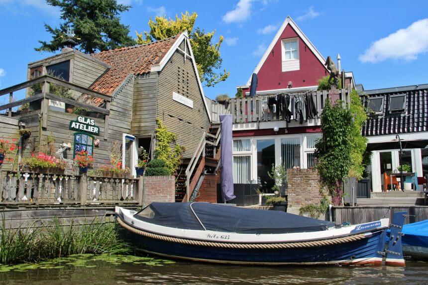 Rondvaart door de grachten van Leeuwarden