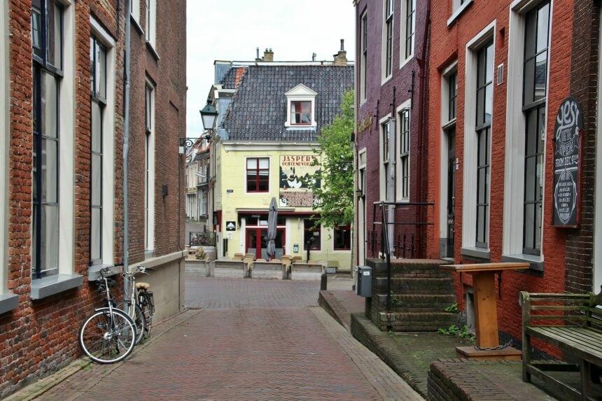 Oude panden in Leeuwarden
