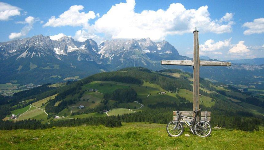 vakantie op een boerderij in de Alpen