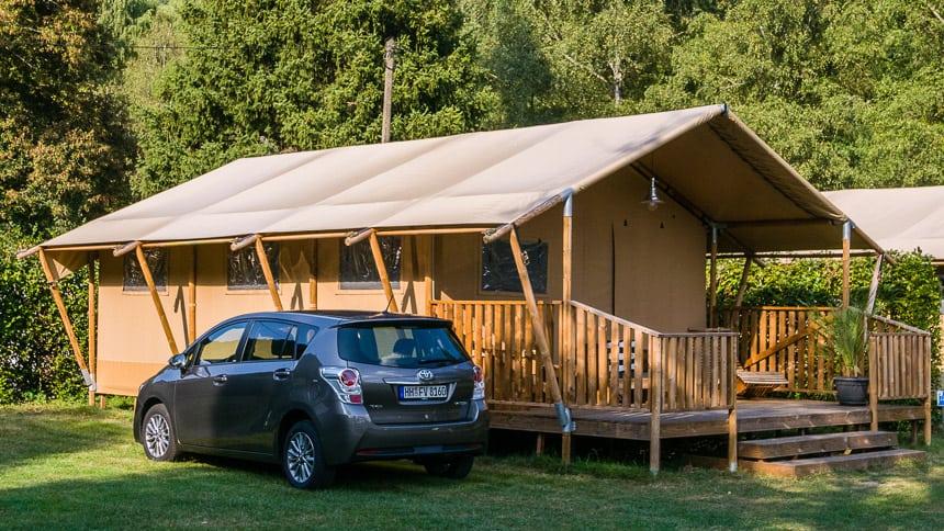 Glamping op Campingpark Bad Leibenzell