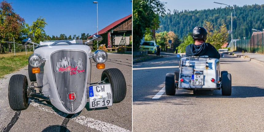 Met Mini Hot Rods op tour