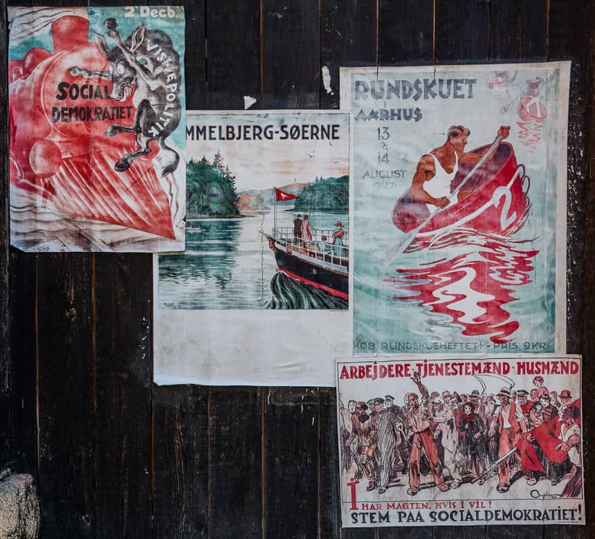 Den Gamle By - 1920 posters
