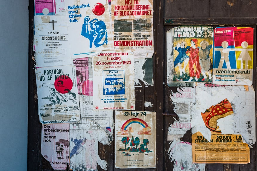 Den Gamle By - jaren 70 poster