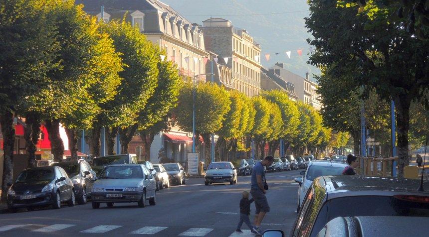 Ochtendgloren in La Bourboule. Een statig kuurstadje in de Auvergne.