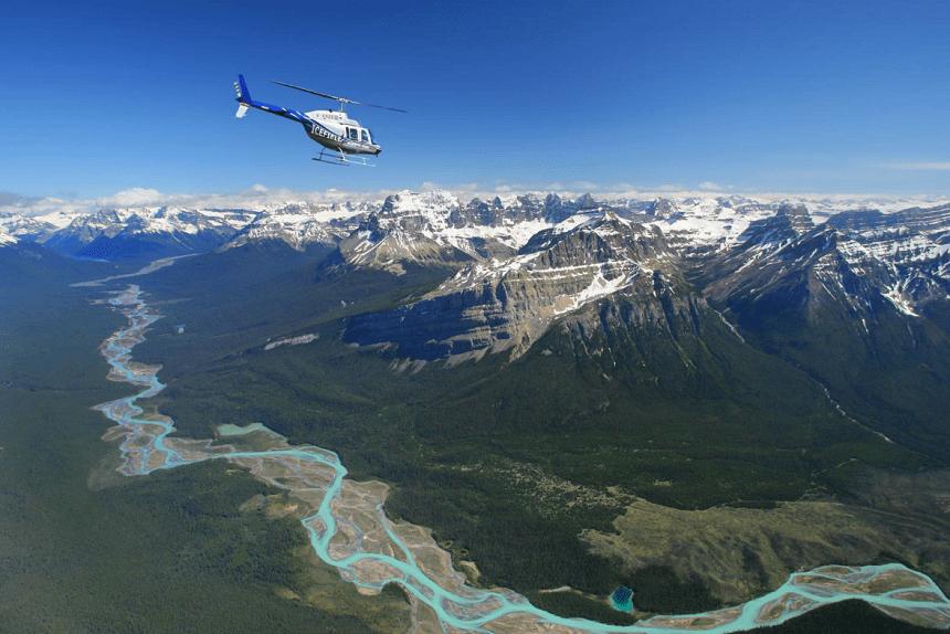 helikoptervlucht-jasper-canada