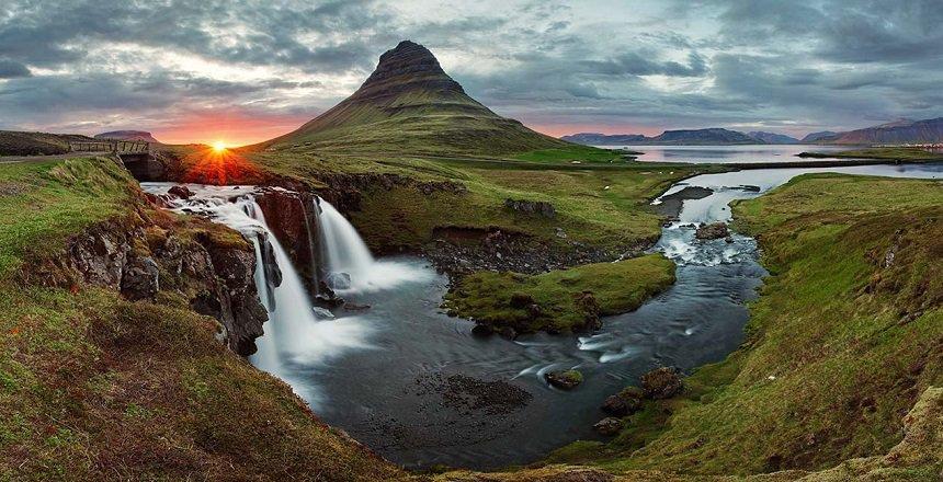 stopover in IJsland