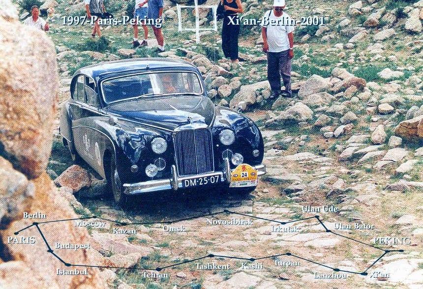 Parijs-Peking met de Jaguar MK IX (1959)