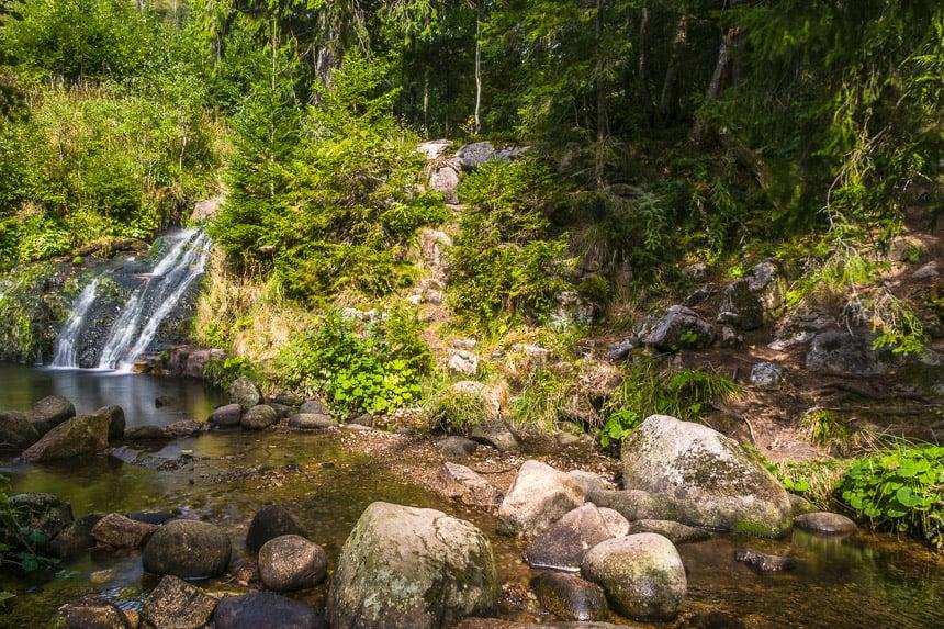 Menzenschwander waterval