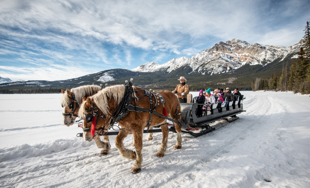Winterse avonturen in Edmonton en Jasper.