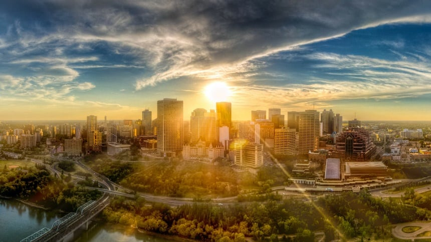 Edmonton in Canada