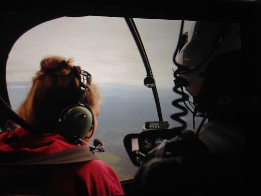 Locals ontmoeten en gratis helikopter vluchtje krijgen