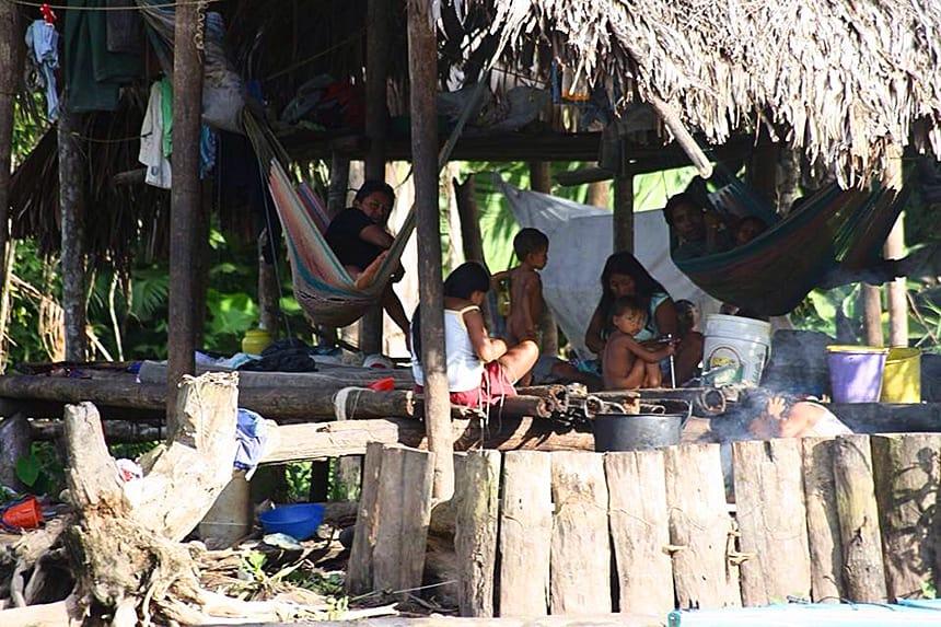 Orinoco delta familie