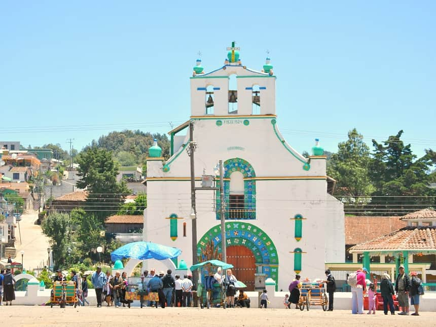 San Juan Chamula kerk