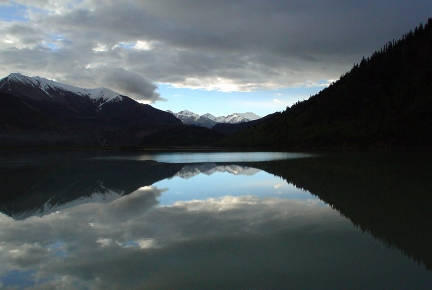 Lake Rawu: achter de besneeuwde toppen ligt mijn geliefde Bhutan