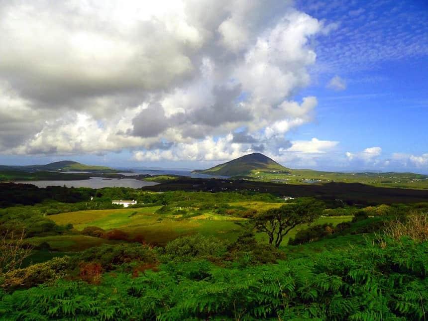Connemara National Park Ierland