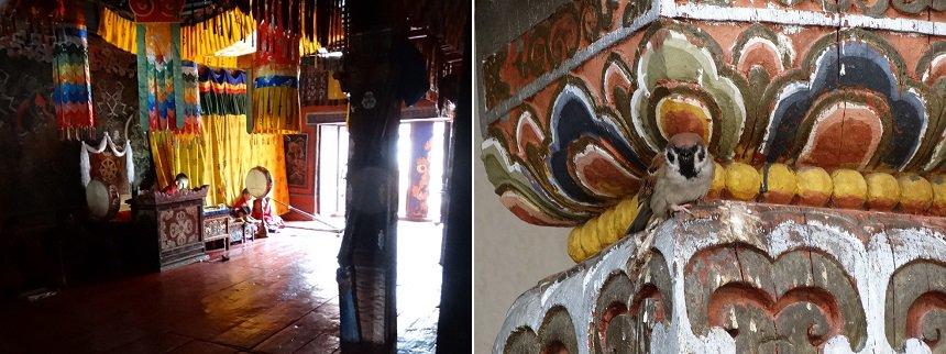 Dzong in de provinciehoofdstad Trashigang