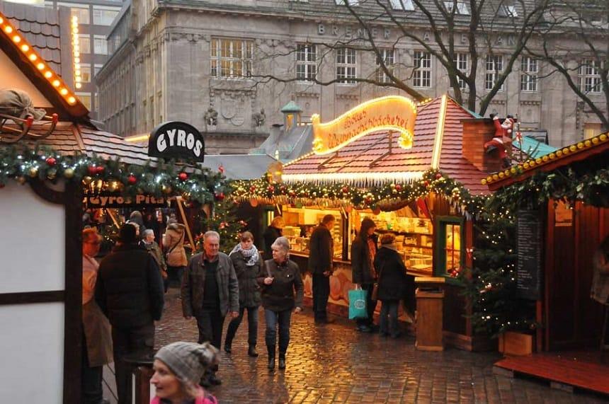 Kerstsfeer in Oldenburg.