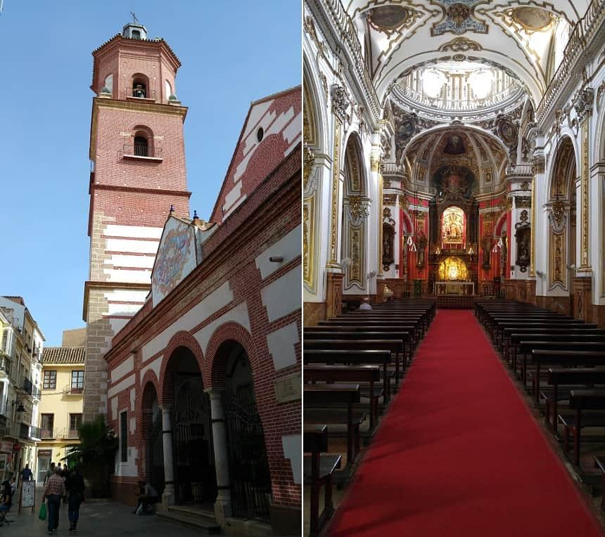 Iglesia de Los Mártires in Málaga