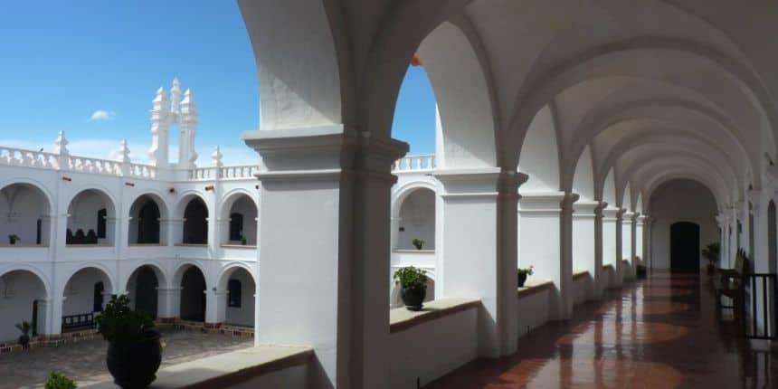 Het klooster van San Felipe de Neri in het centrum van Sucre