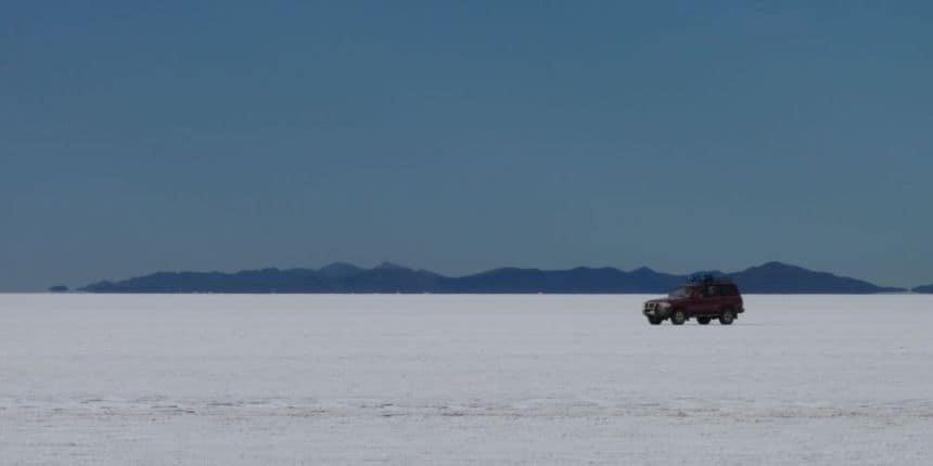 De zoutvlakten van Uyuni