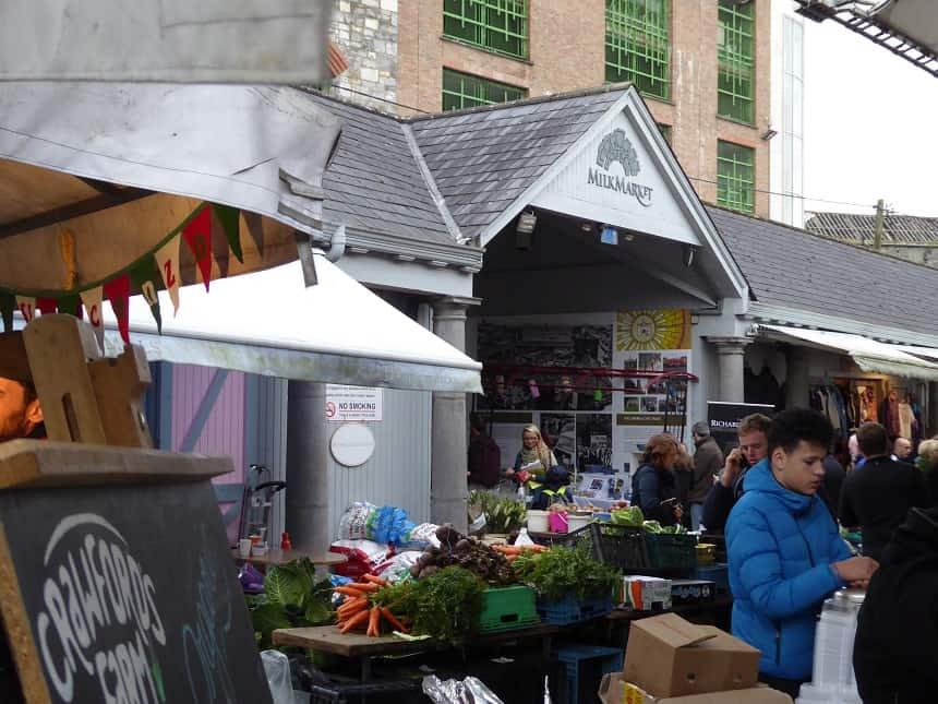 De Milk Market is in het weekend dé plek om boodschappen te halen