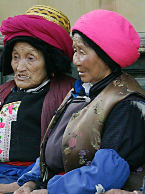 Shangri-la elderly ladies