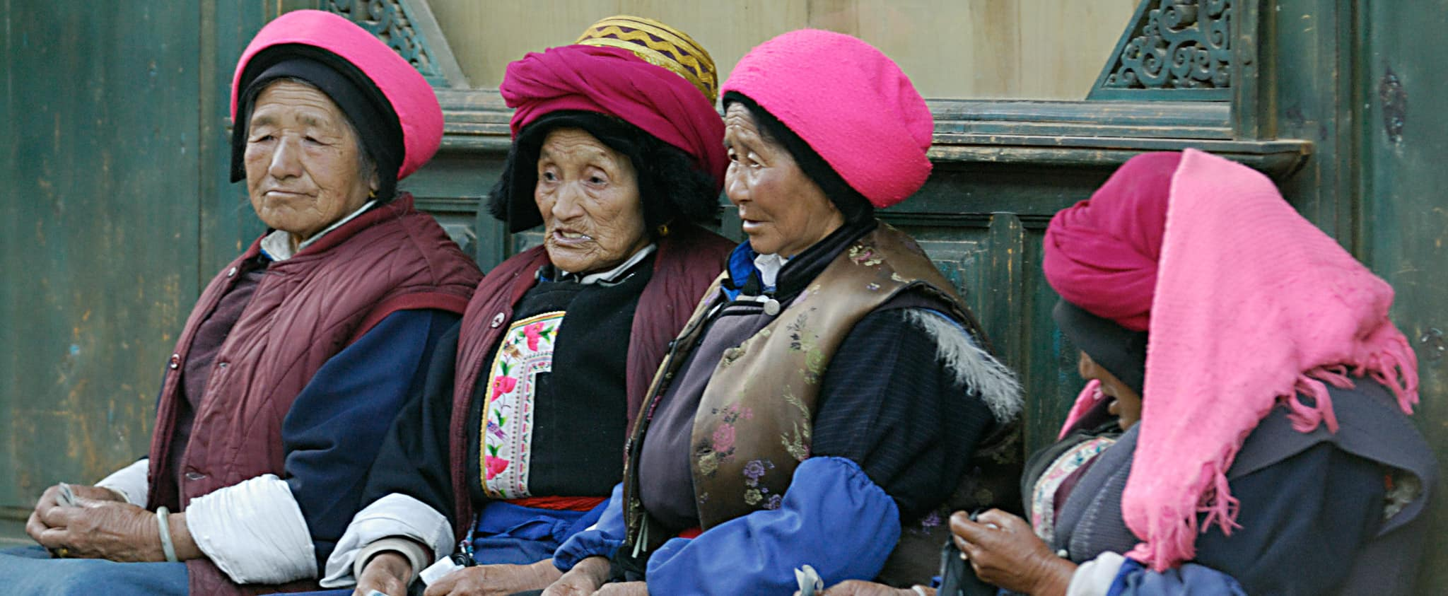Shangri-la elderly ladies