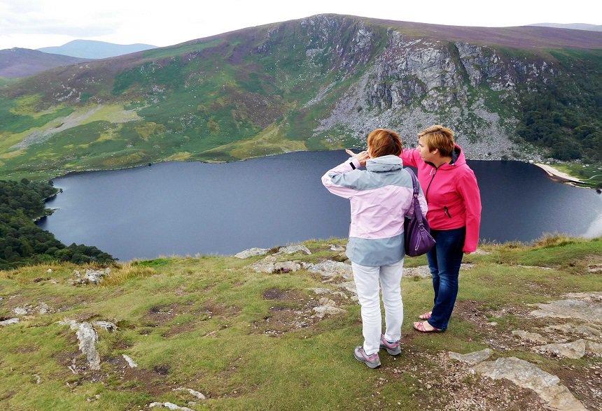Wicklow Mountains met privégids Cathelijne