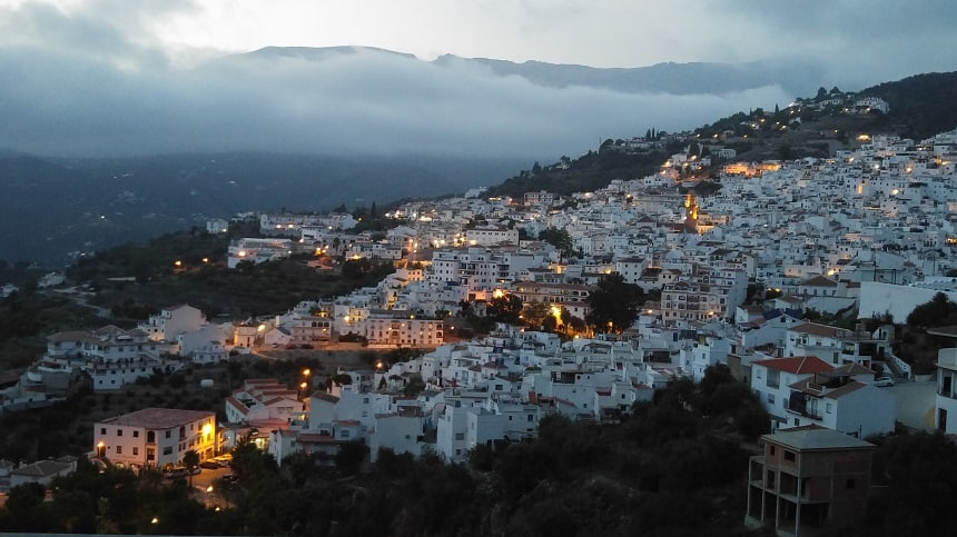 Competa by night