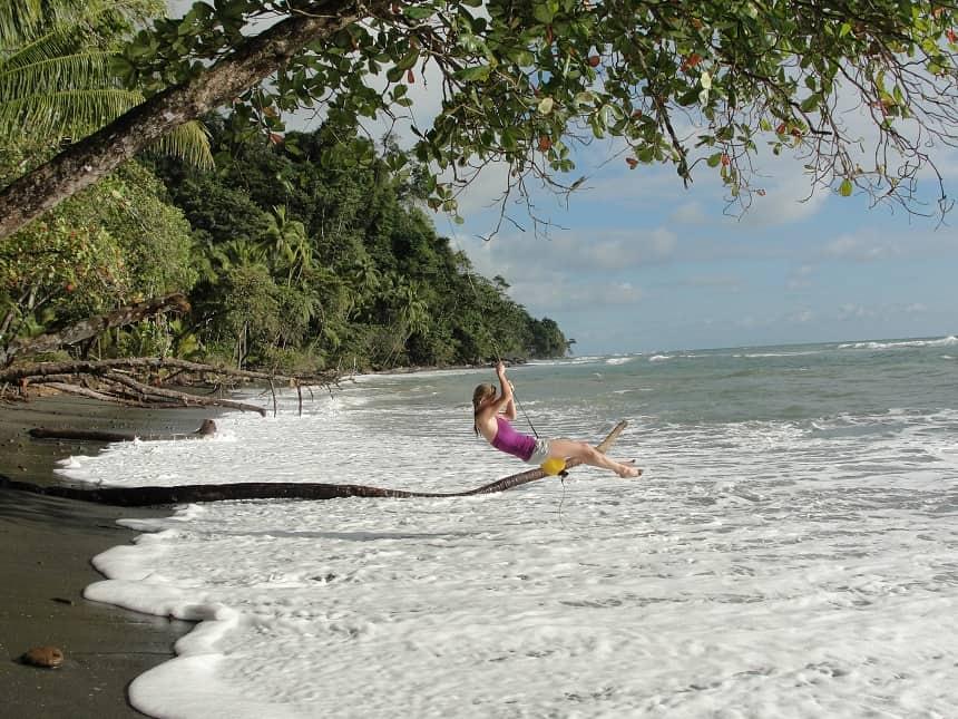 Corcovado strand Costa Rica