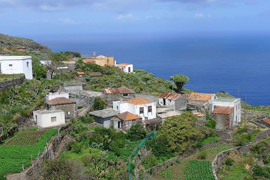 El Tablado, een authentiek dorpje in het noorden van La Palma, aan het einde van de wereld