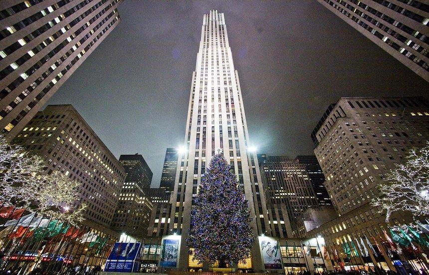 New York is klaar voor de feestelijke maand december.