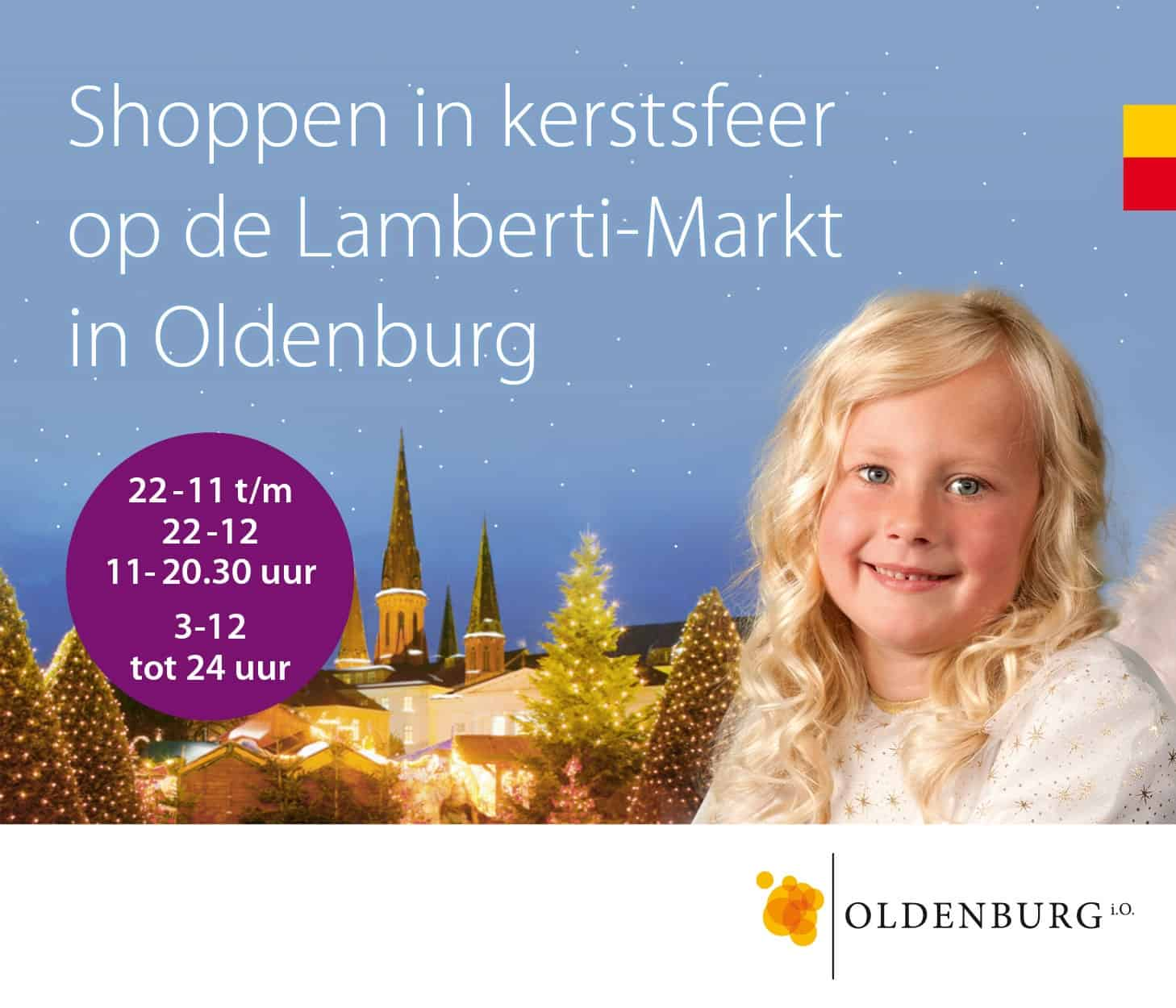 kerstmarkt van Oldenburg