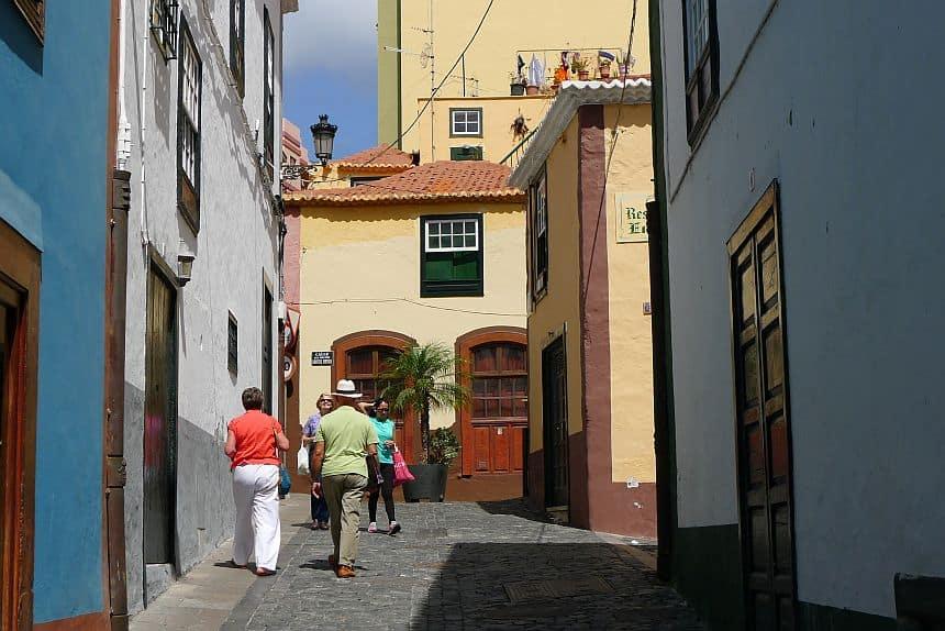 Santa Cruz de la Palma is de hoofdstad van het Canarische Eiland La Palma