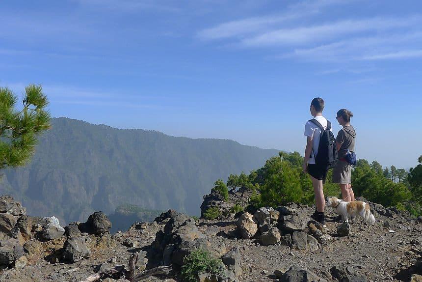 Pico Bejenado, wandeling met een fysieke uitdaging
