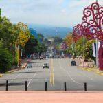 De lichtjes van Managua
