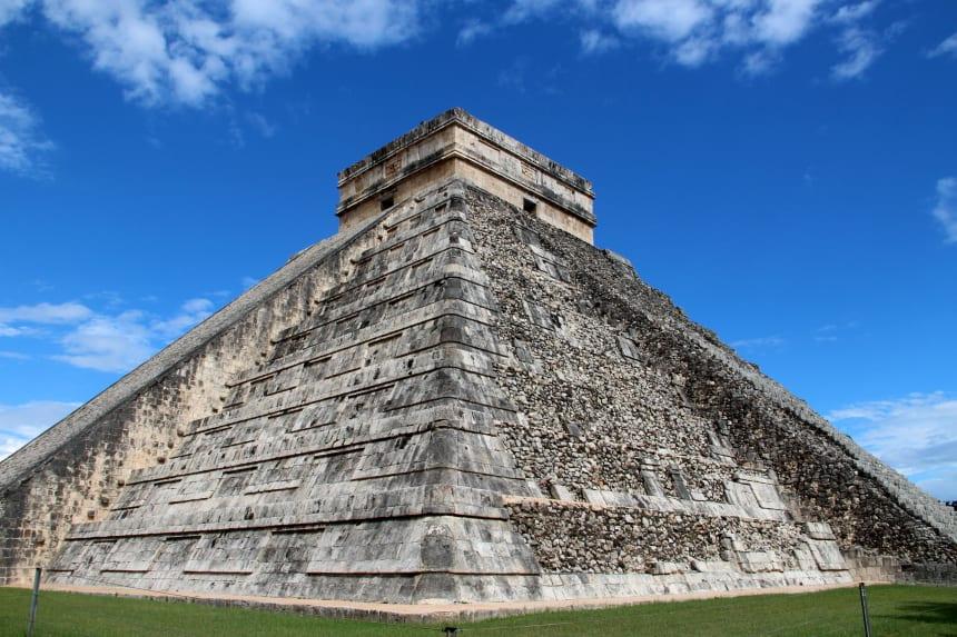 Chichen Itza is de bekendste Mayatempel van Mexico