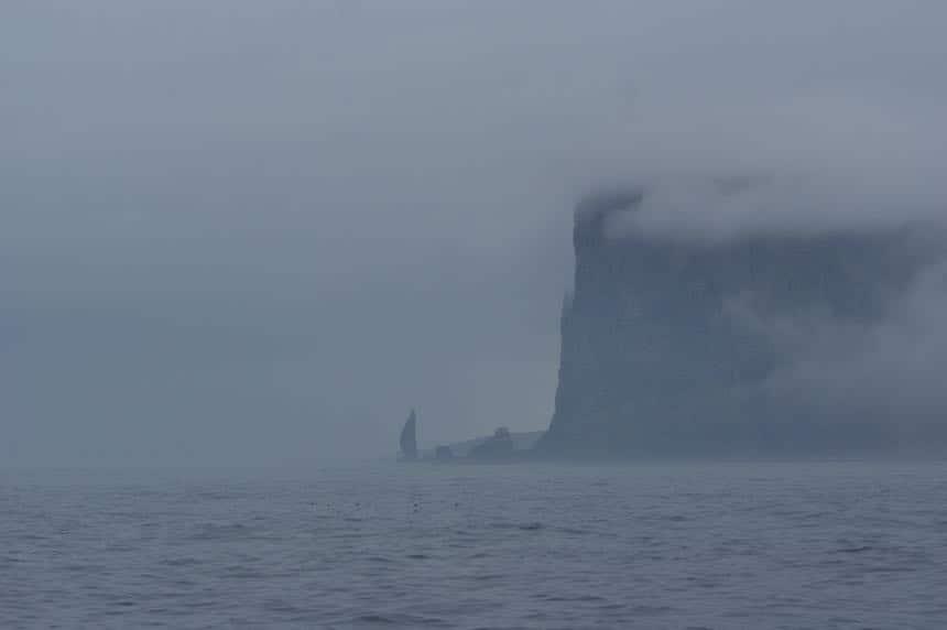 De ruige kust van Bereneiland