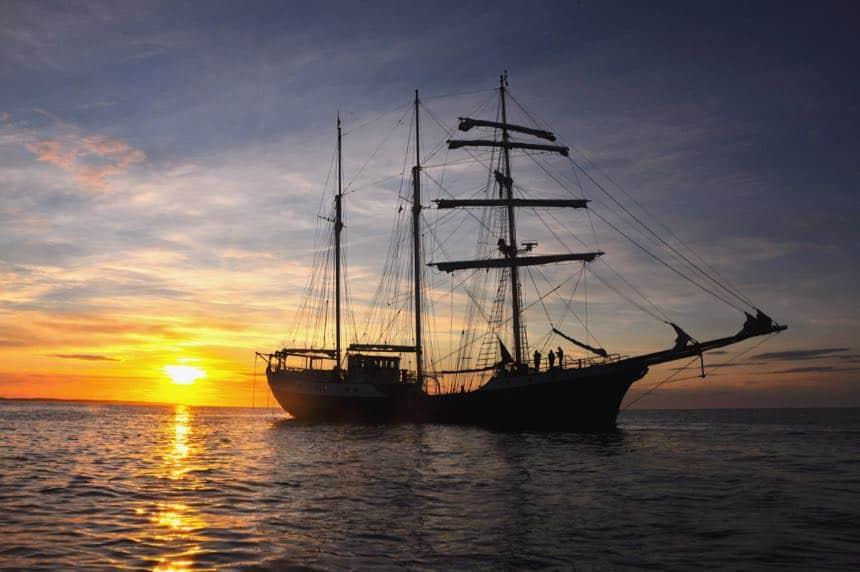 Zeilschip Antigua