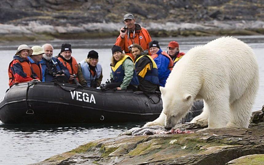 Ecotoerisme naar Spitsbergen.