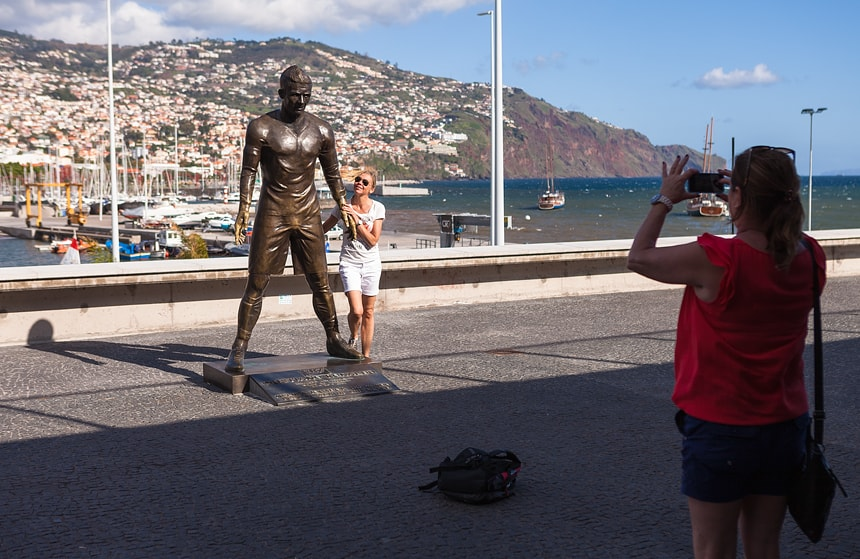 CR7 Museum, Funchal, Madeira, Portugal