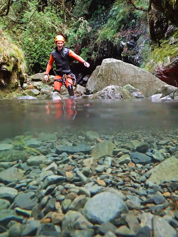 Canyoning, Madeira, Portugal