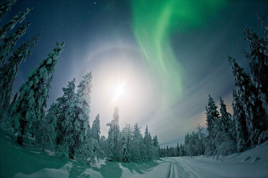 oud & nieuw Fins Lapland